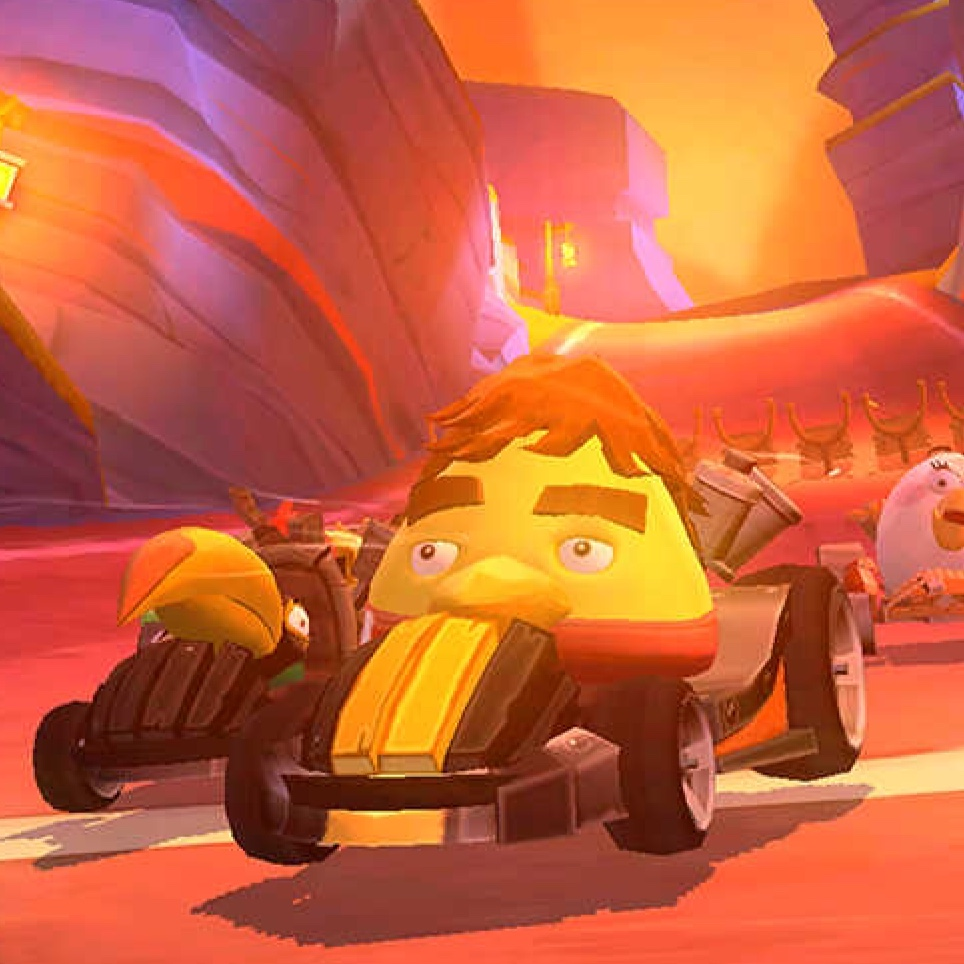 Bizarre Angry Birds Go update turns deceased driver Ayrton Senna into a big yellow bird
