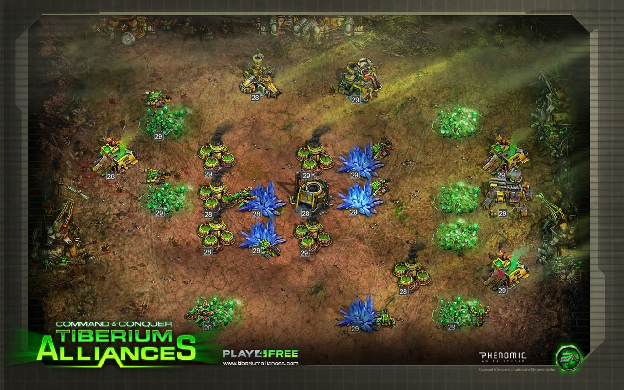 Hands-on with Command & Conquer: Tiberium Alliances