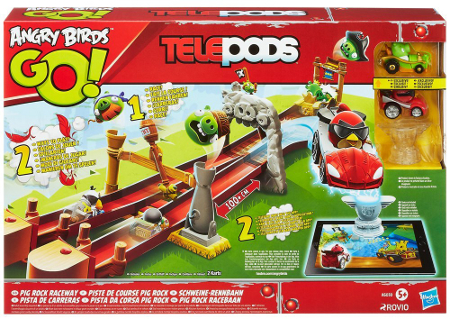 Angry Birds Go Pig Rock Raceway - toy guide