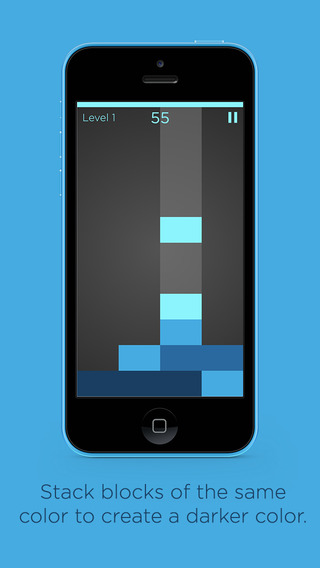 Shades is a minimal puzzler about creating and clearing rows of color