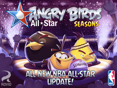"Angry Birds Seasons gets 15 new ""NBA All-Star"" levels in latest update"