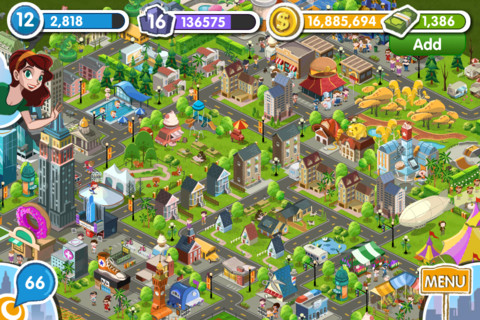Exclusive: New social features and check-in bonuses coming in mid-November update to location-based game MyTown 2