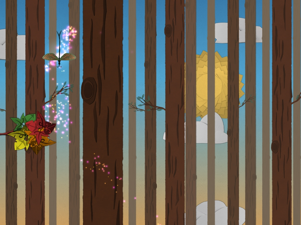 Ephemerid is a rock-'n'-roll adventure set in an insect world made of paper out now for iPad