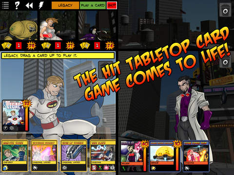 Superhero card game Sentinels of the Multiverse is on sale right now for iOS