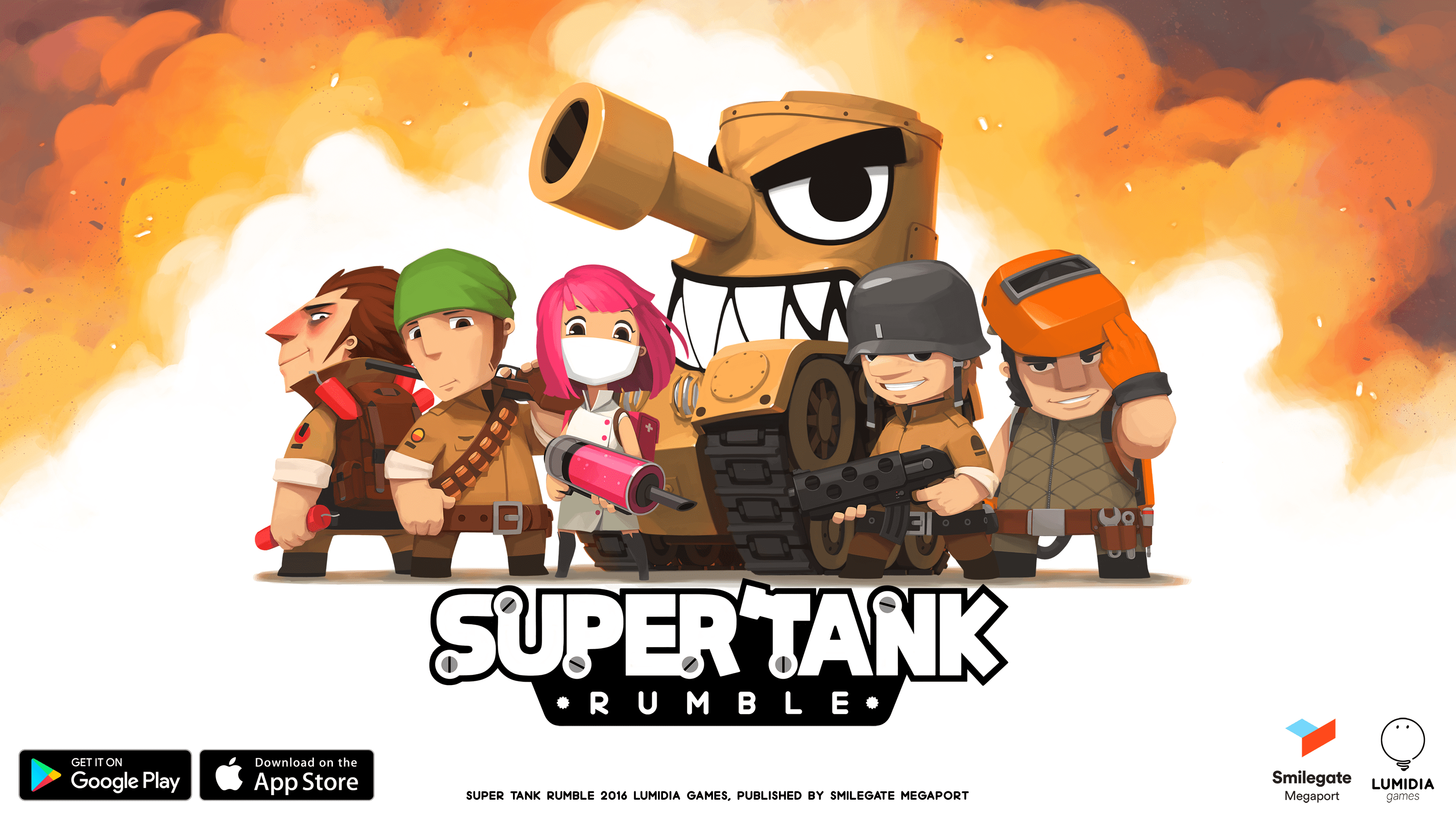Lumidia Games give us a glimpse into the inspirations behind their sandbox battler Super Tank Rumble