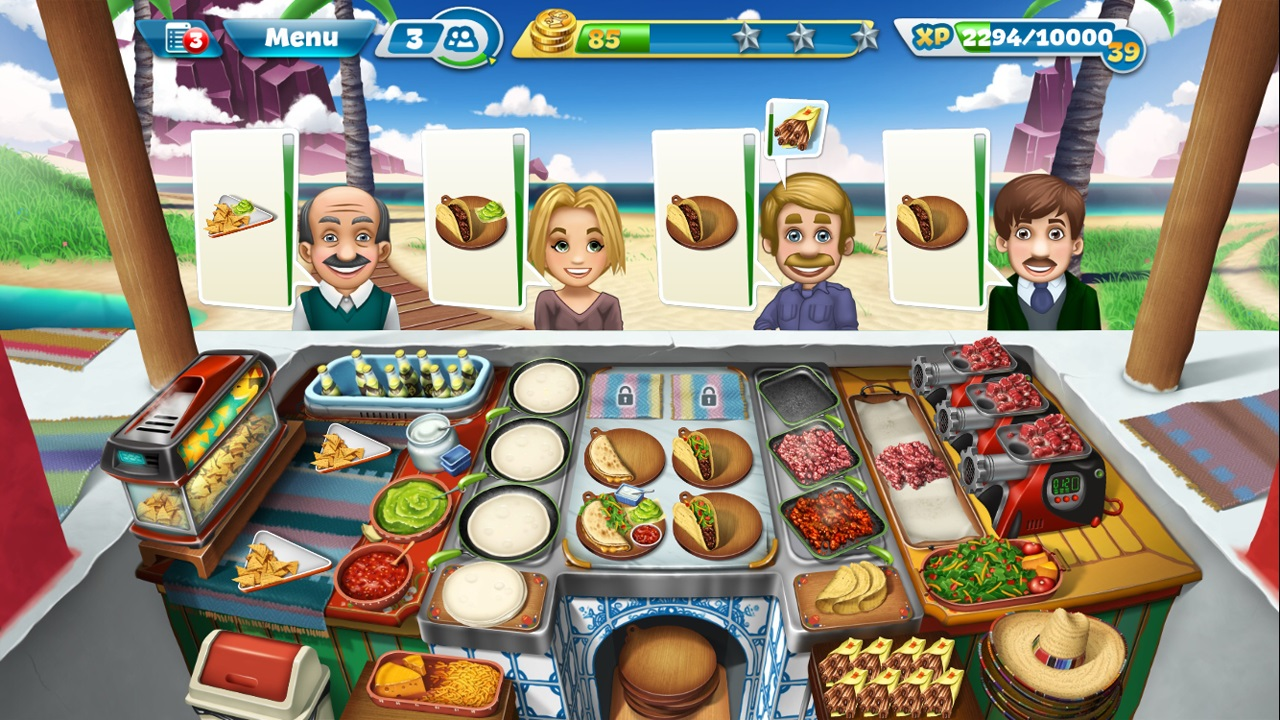 Cooking Fever is finally available on Windows Phone