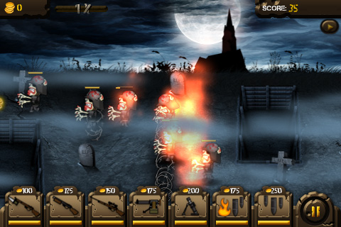Trenches rises from the grave with Stenches on iPhone