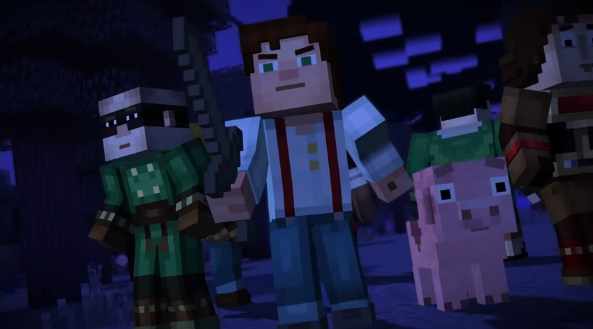 Minecraft: Story Mode's 2nd episode should be out now, check out the trailer