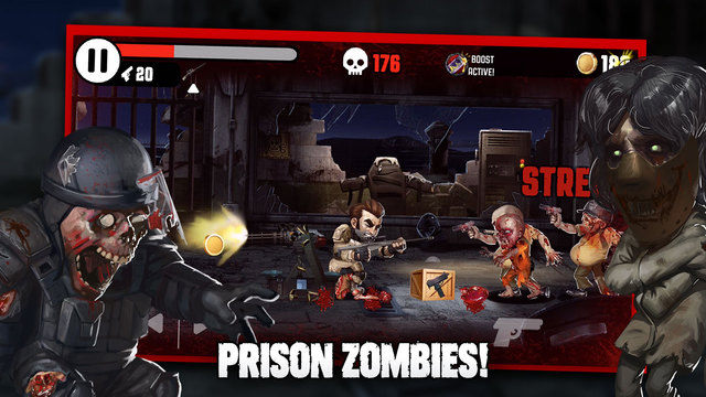 Out now: How many undead can you slaughter in Adult Swim's Zombocalypse?