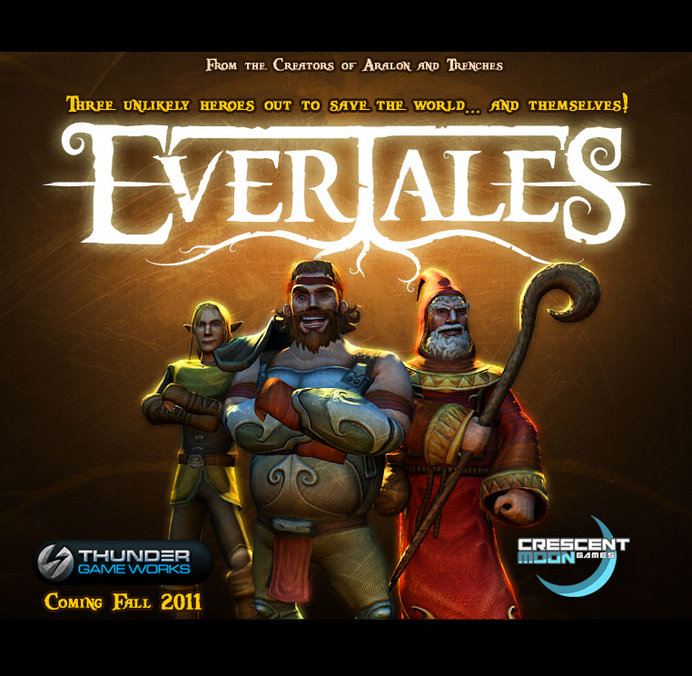 Crescent Moon Games teaming up with Thunder Game Works to bring side-scrolling brawler Evertales to iOS this fall