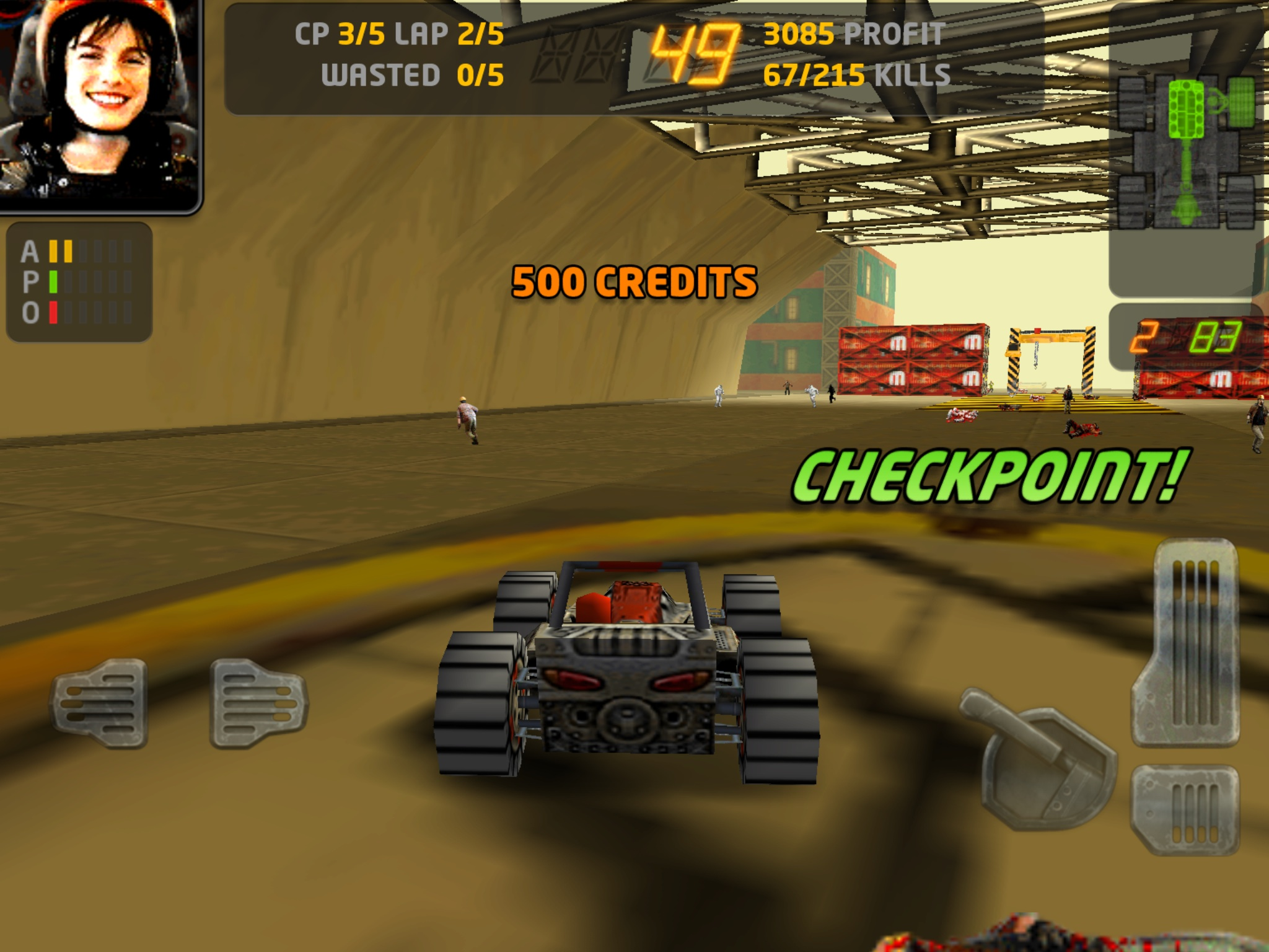You can pick up Carmageddon for free over the next 24 hours on iOS and Android