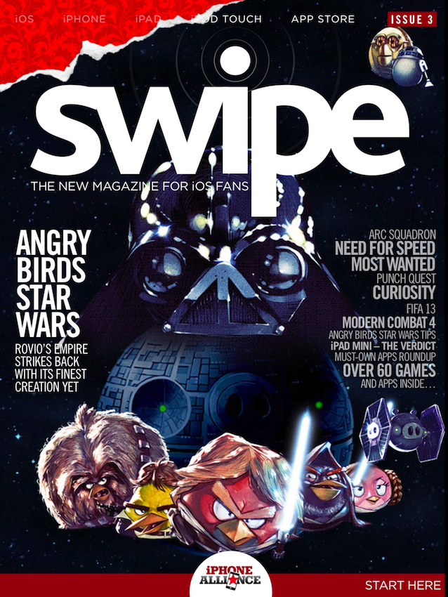 swipe magazine issue 3 now out on Newsstand