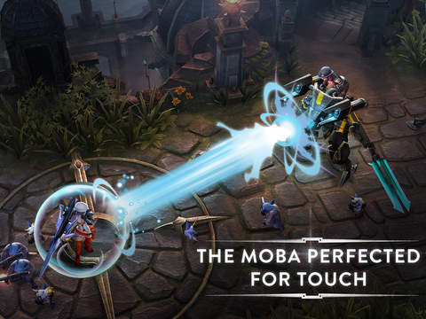 Mobile MOBA Vainglory is now ganking and laning on iOS throughout Europe