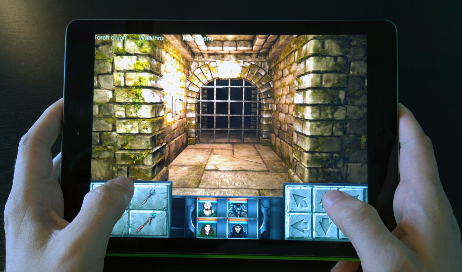 First footage of Legend of Grimrock on iPad released, will be out this spring