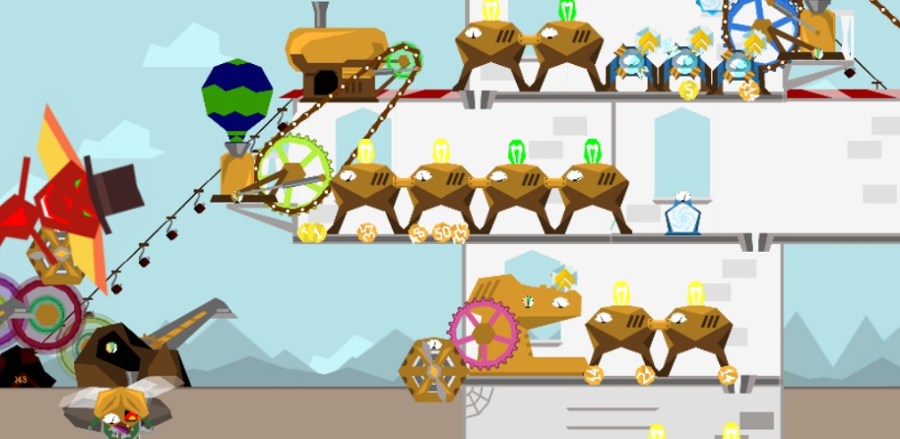 Engineer Millionaire is the steampunk idle spinner that makes managing intricate machinery fun