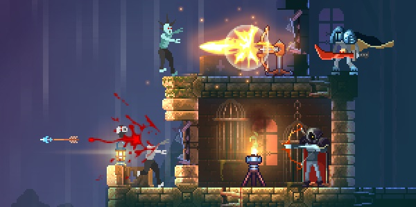 Only one player can win in Dead Cells, an upcoming co-op survival game with a twist