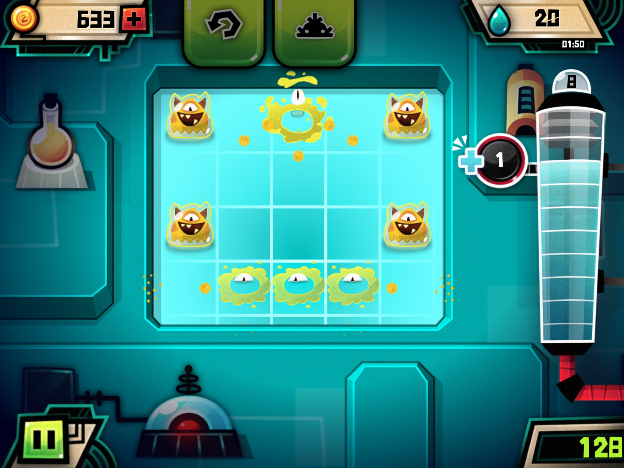 Globlins is a new and satisfyingly squelchy monster popping puzzler for iPad and iPhone