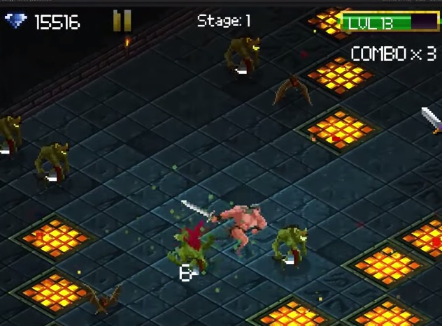 Forget dungeon crawling, Tap 'n' Slash is a fast-paced RPG all about dungeon dashing