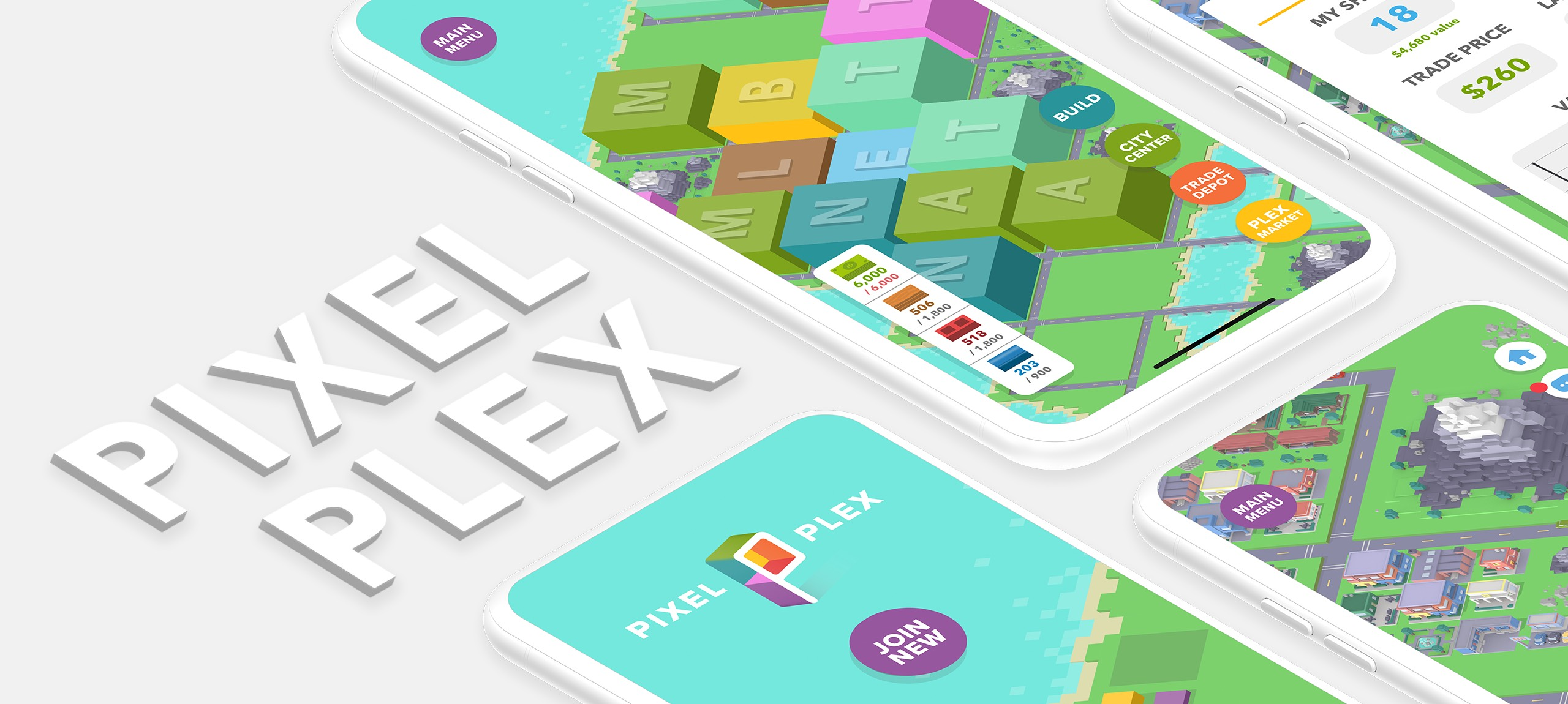 [Update] Believe it or not, Pixel Plex looks like an interesting city builder and it's out now