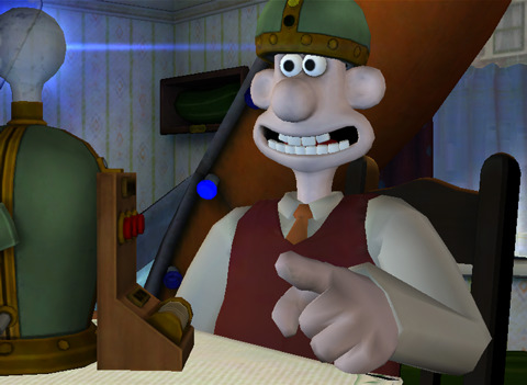 Wallace & Gromit check into The Last Resort on iPad
