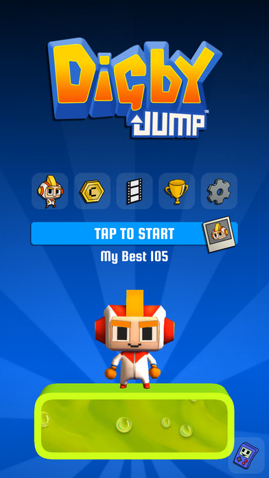 [Update] Digby Jump trades endless digging for vertical platforming, available now on iOS