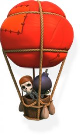 Balloon - soldier stats and troop tactics in Clash of Clans