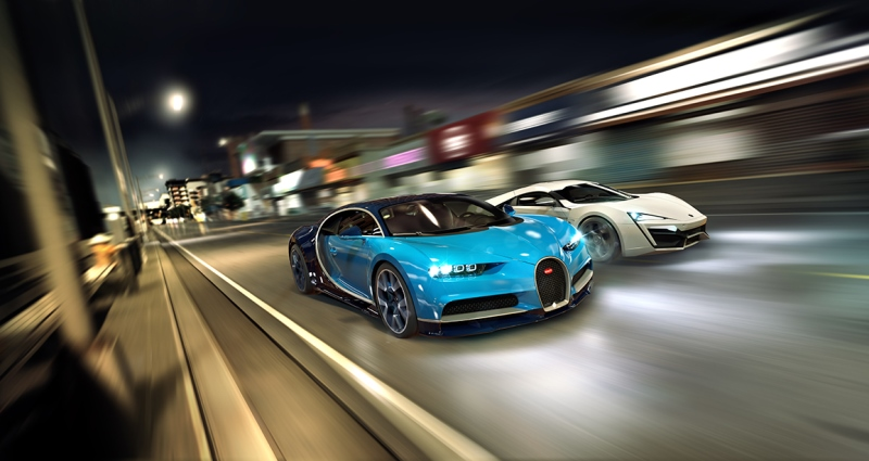 CSR Racing 2 pushes its new super sports car update - say hello to the Bugatti Chiron