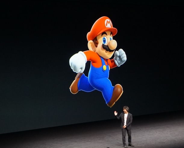 Nintendo shares rise after Miyamoto announces Super Mario Run, their first tie-in with Apple
