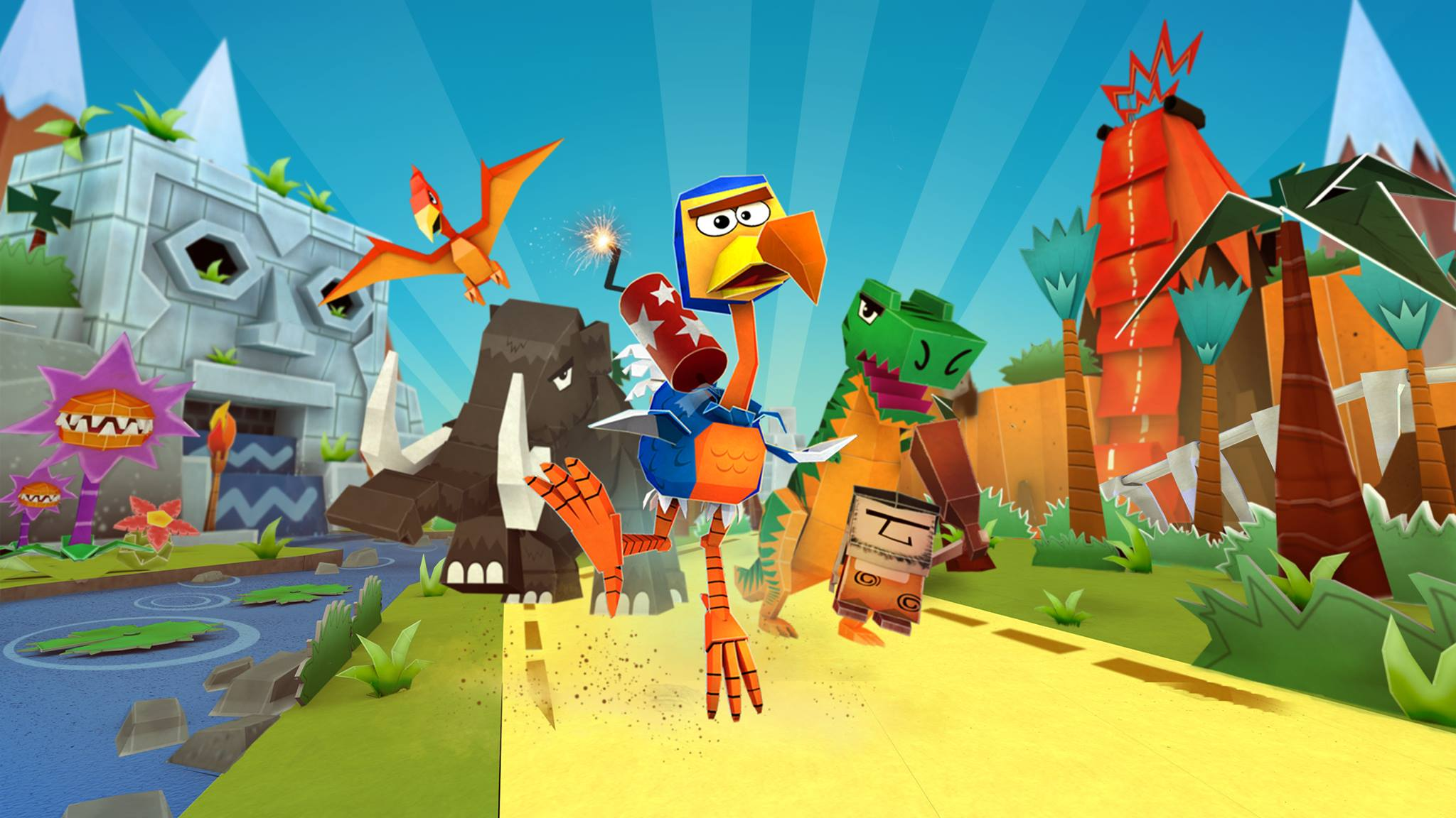 Cartoon Survivor has all the danger and vibrancy of Looney Tunes with added explosive dodo
