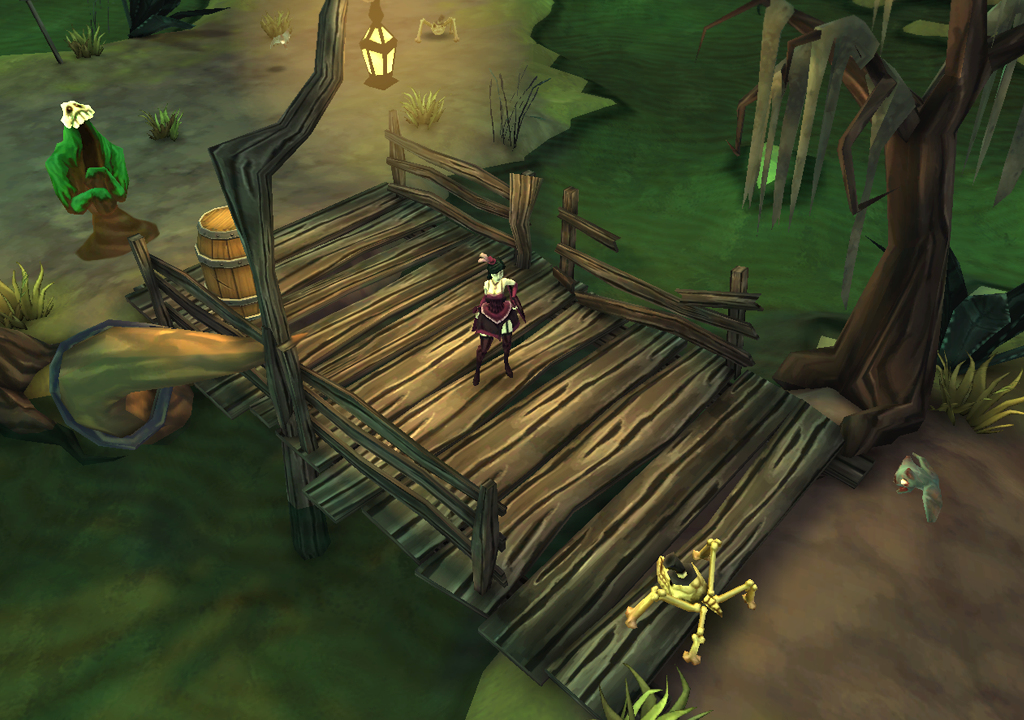 The Underworld needs saving in Chillingo's imminent Diablo-esque action-adventure game Gloomy Hollow