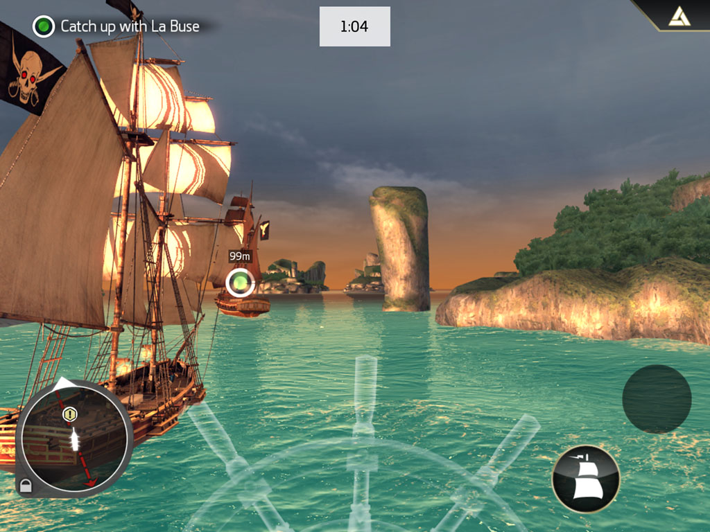 Hands On With Assassin S Creed Pirates Sailing The Seas On Ios And Android Articles Pocket Gamer