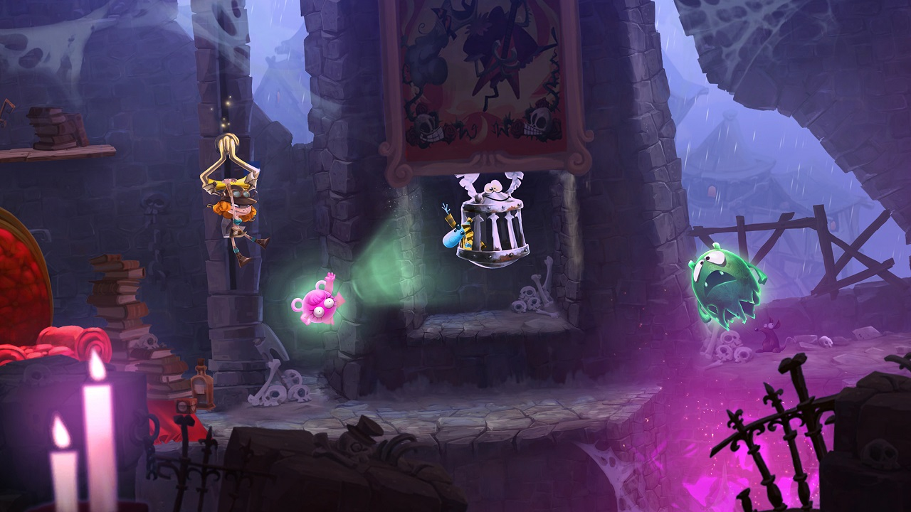 How to get the best score in each of the level types in Rayman Adventures