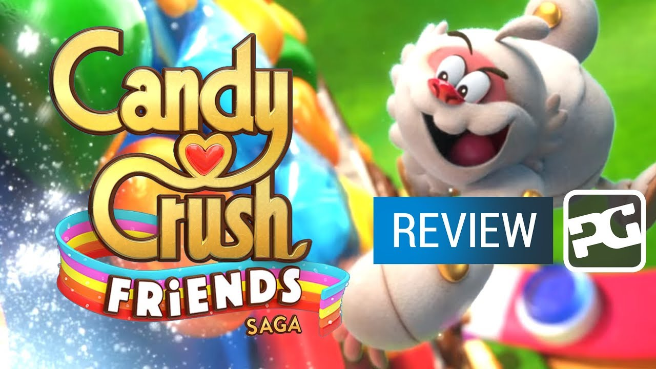 "Candy Crush Friends Saga video review - ""The same thing but just as sweet"""