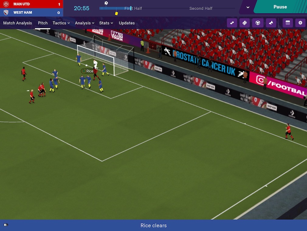 Test de Football Manager 2019 Touch