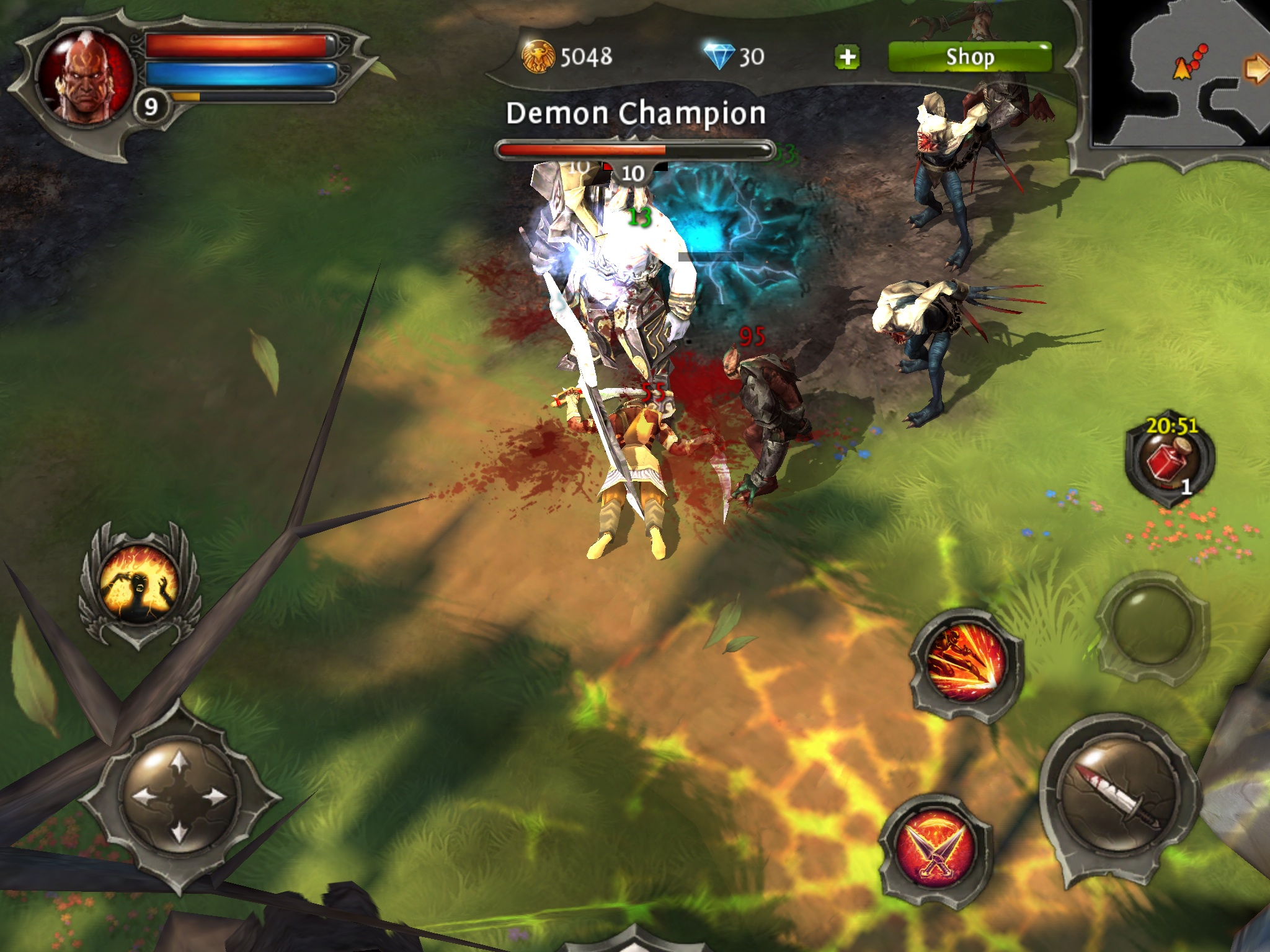 Dungeon hunter 4 apk download free role playing game for android.