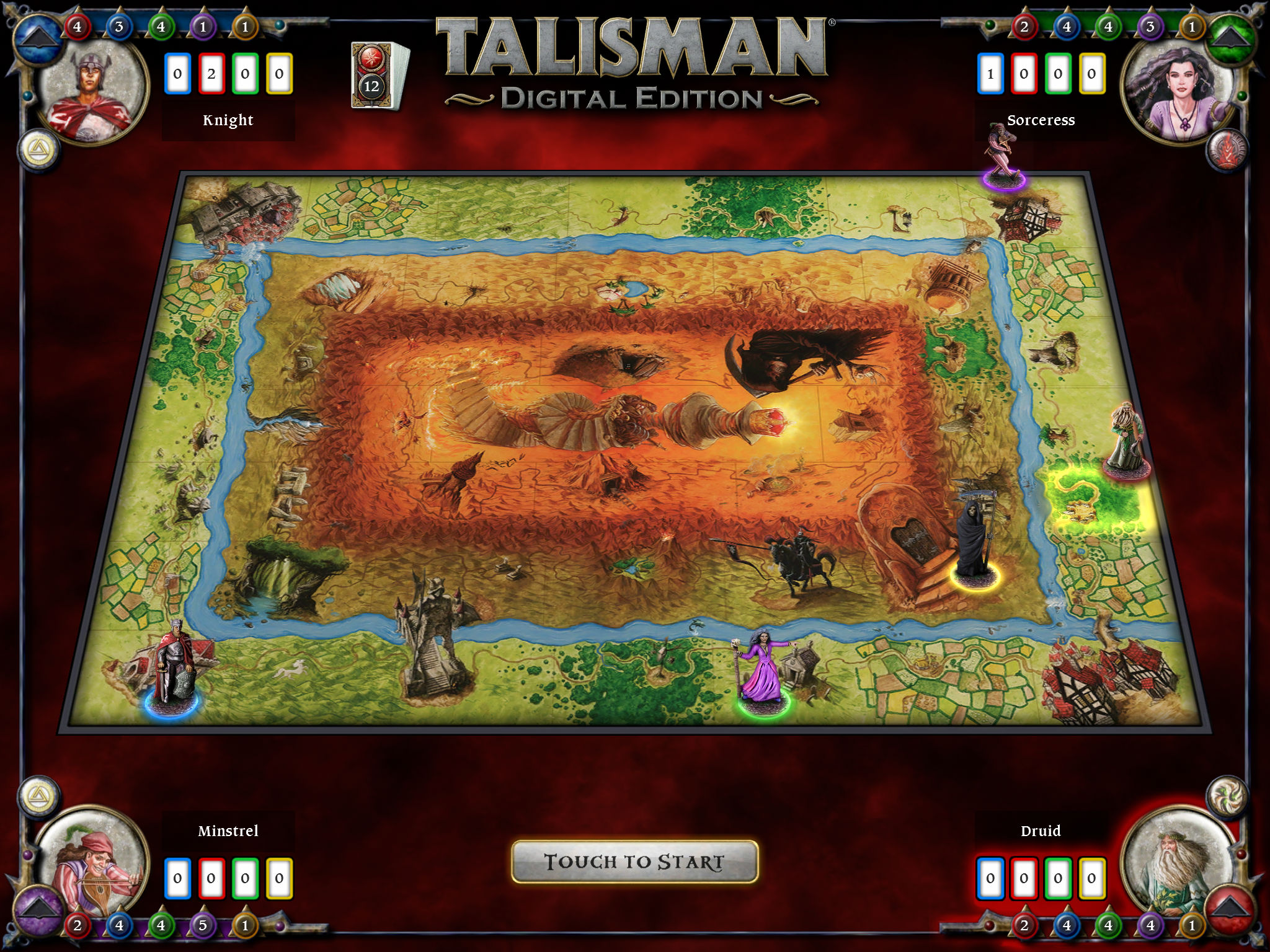 In under an hour we're taking to Twitch to stream some Talisman: Digital Edition