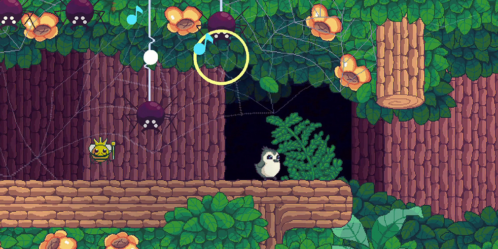 Songbird Symphony's new trailer showcases more of the musical platformer's environments