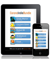 Ansca Mobile's 5 title strong 99c Corona Indie Bundle goes live on iOS and Android