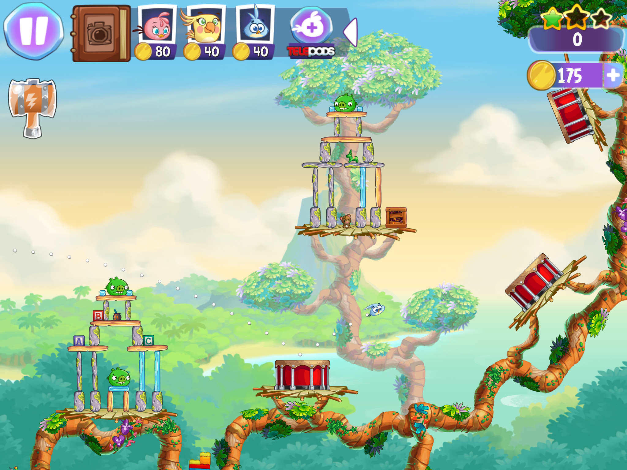 Angry Birds Stella, the latest in the Angry Birds series, is out right now for iOS and Android