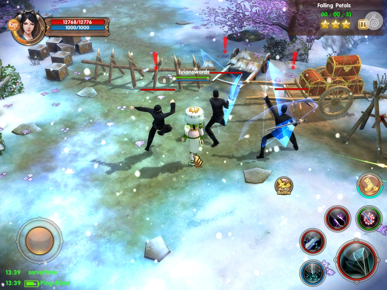 Age of Wushu: Dynasty - Sometimes you want someone else to grind for you