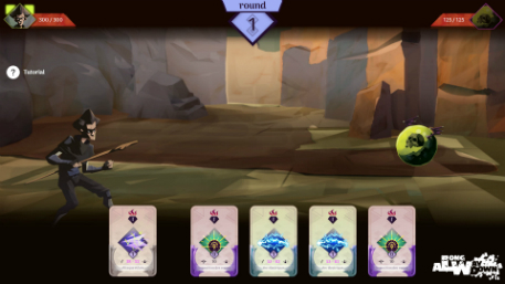 A Long Way Down is looking to shake up the card-based RPG