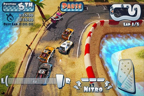 Hands-on with Mini Motor Racing for iPhone