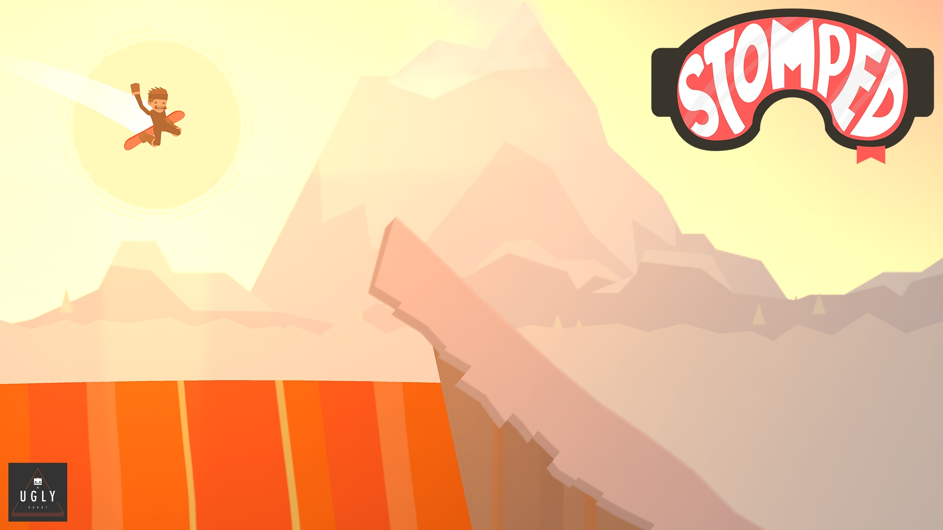 Conquer the mountain with style in the upcoming trick-heavy snowboarding game Stomped