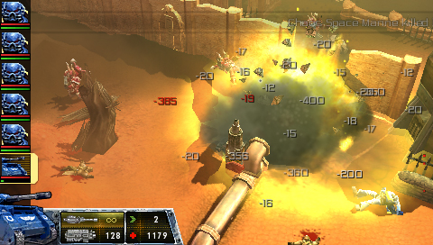 First Warhammer 40k: Squad Command PSP trailer | Articles