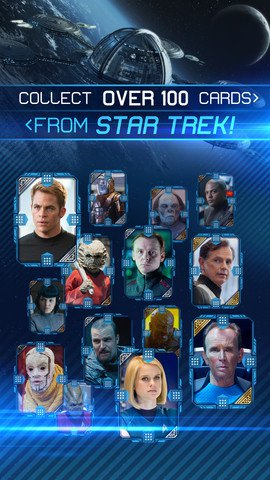 Find out whether Captain Kirk is 'better' than a Nibiru child in Star Trek Rivals for iOS