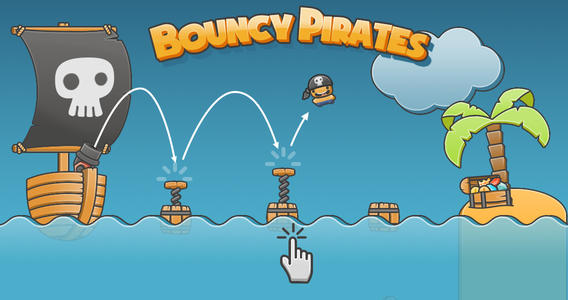 Mobile Pirates: Age of Booty: Tactics For Some Bouncy Pirates