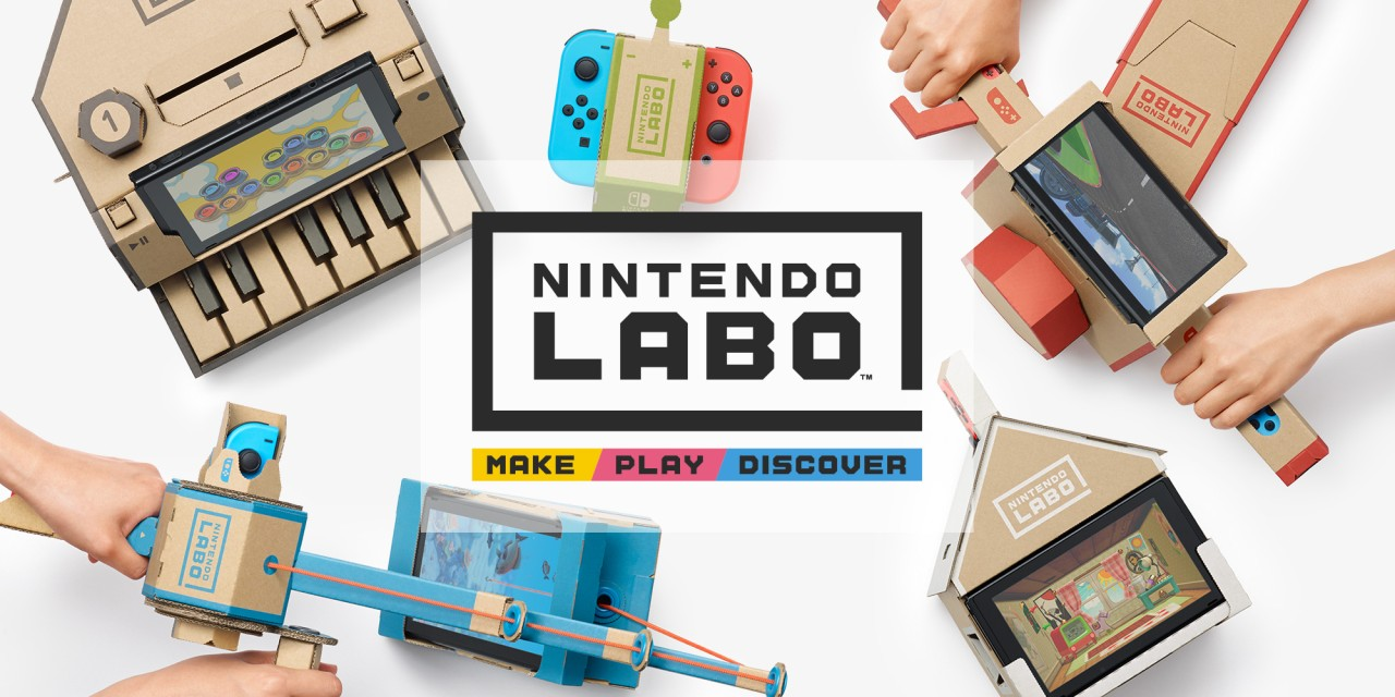 Nintendo Labo preview - A cardboard miracle