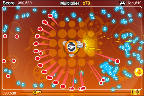 Tilt to Live for iPhone updated with new weapon and game type