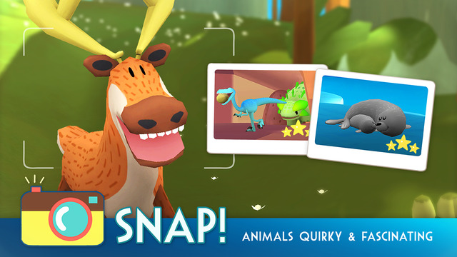 Snapimals might be the cutest Pokemon Snap-like mobile game out there