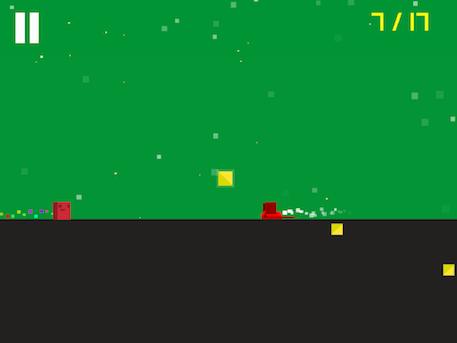 Binary Dash review - A tough two touch platformer